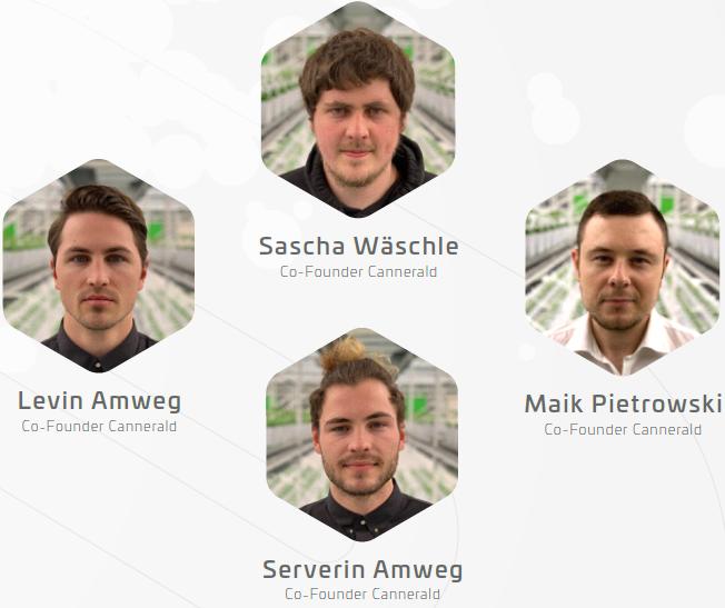 Cannergrow Gründerteam Levin Amweg